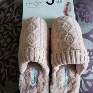 Jessica Simpson slippers L (8-9)